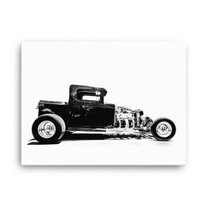 1928 Ford Pickup Hot Rod - Will Glover Featured Artist - Canvas Print