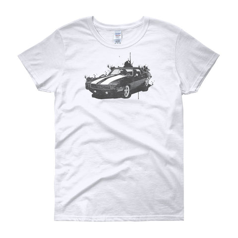 Camaro Splash - Modern Rodder - Women's T-Shirt