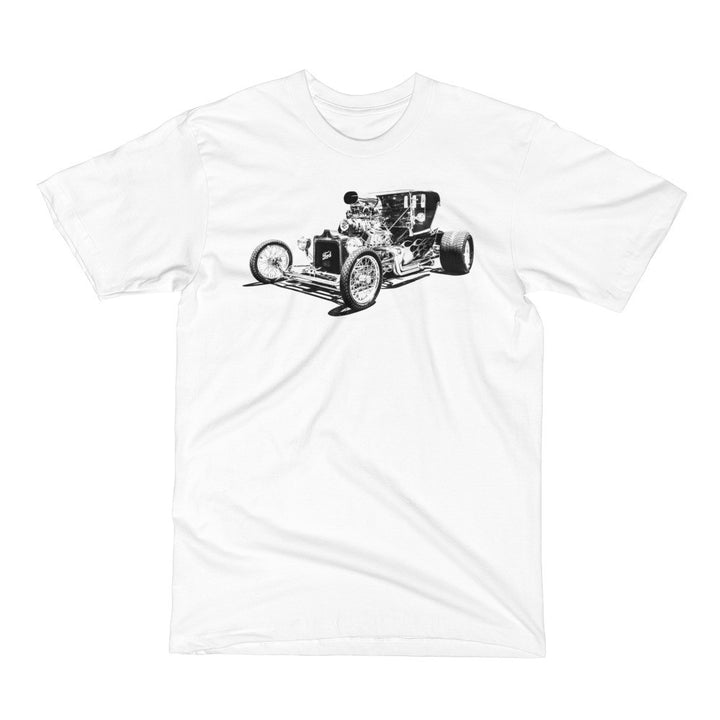 Ford T-Bucket - Will Glover Featured Artist - Men's Short Sleeve T-Shirt