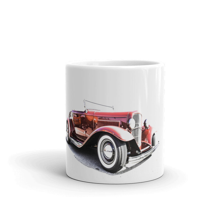1932 Ford Roadster - Will Glover Featured Artist - Mug made in the USA