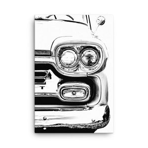 Chevrolet Apache Pickup - Will Glover Featured Artist - Canvas Print