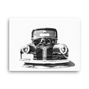 1940 Ford Street Rod - Will Glover Featured Artist - Canvas Print