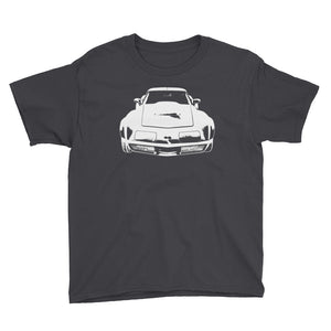 1969 Corvette - Modern Rodder - Youth Short Sleeve T-Shirt