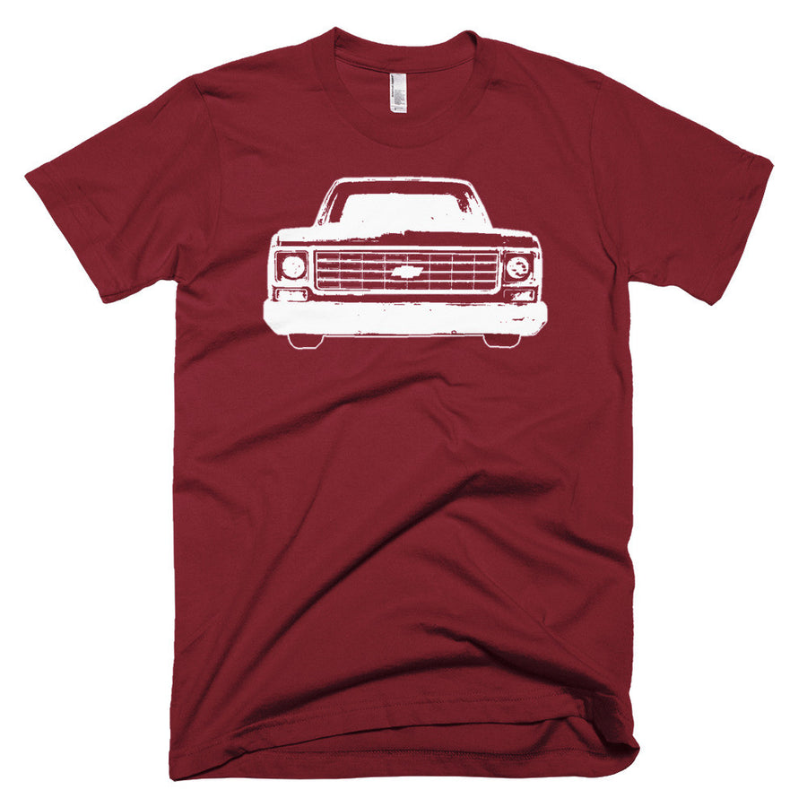 1977 Chevrolet C10 Pickup Truck - Modern Rodder - Men's T-Shirt