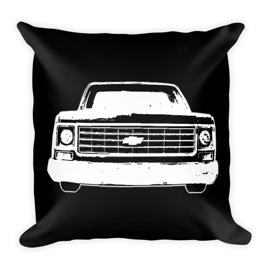 1977 Chevrolet C10 Pickup Truck - Modern Rodder - Soft Pillow