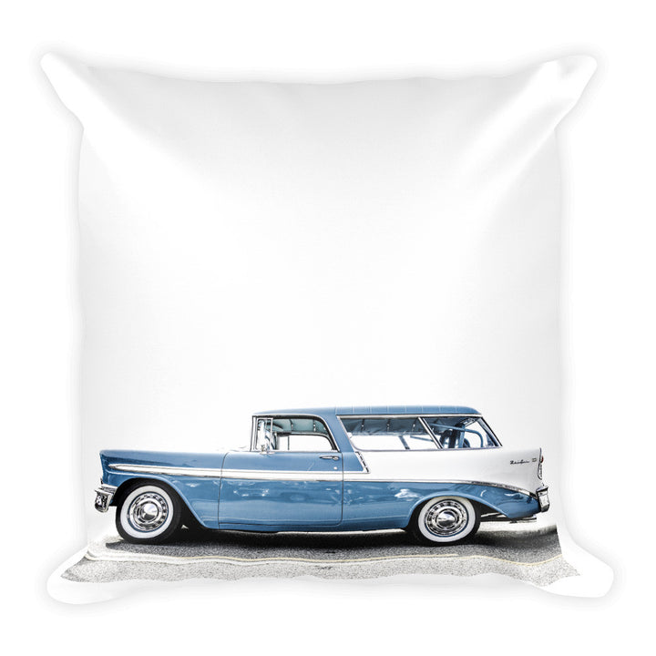 1956 Chevy Nomad Wagon - Will Glover Featured Artist - Soft Pillow