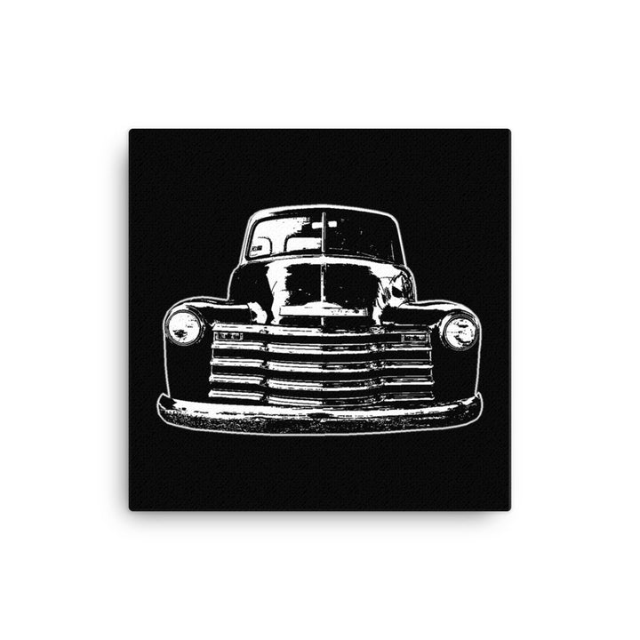 1952 Chevy 3100 Custom Pickup - Modern Rodder - Canvas Print