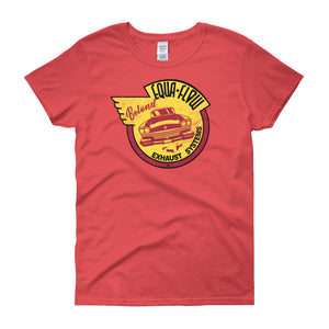 Equa-Flow Exhaust - Modern Rodder - Women's T-Shirt