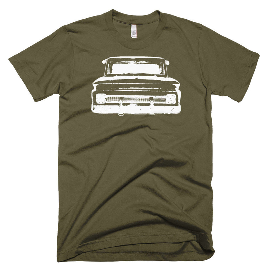 1965 Chevy C10 Big Window Pickup - Modern Rodder - Men's T-Shirt