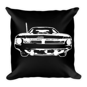 1970 Barracuda - Cuda - Modern Rodder - Soft Pillow