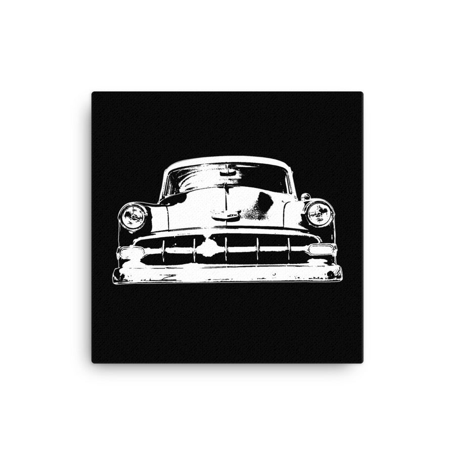 1954 Chevy BelAir - Modern Rodder - Canvas Print