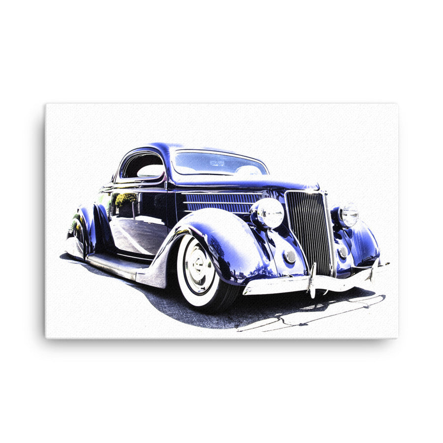 1936 Ford Street Rod - Will Glover Featured Artist - Canvas Print