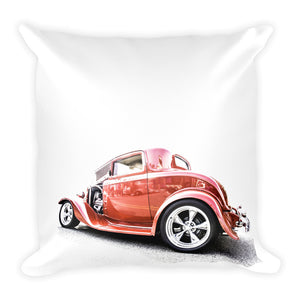 1932 Ford Three Window Hot Rod - Will Glover Featured Artist - Soft Pillow