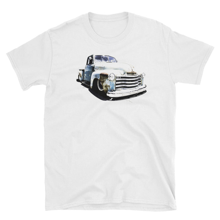 1952 Chevy Patina Hot Rod Truck - Will Glover Collection - Men's T-Shirt