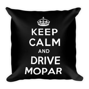 Keep Calm and Drive Mopar - Modern Rodder - Soft Pillow