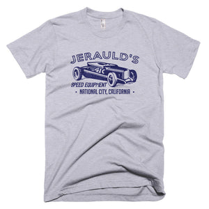 Jeraulds Speed Equipment National City California - Modern Rodder - Men's T-Shirt