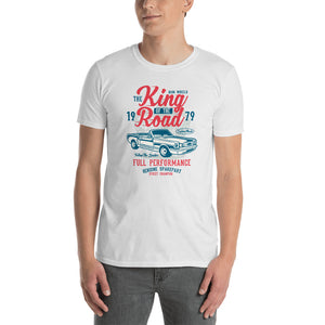 King of the Road - Classic Ford Mustang Convertible - Men's Shirt