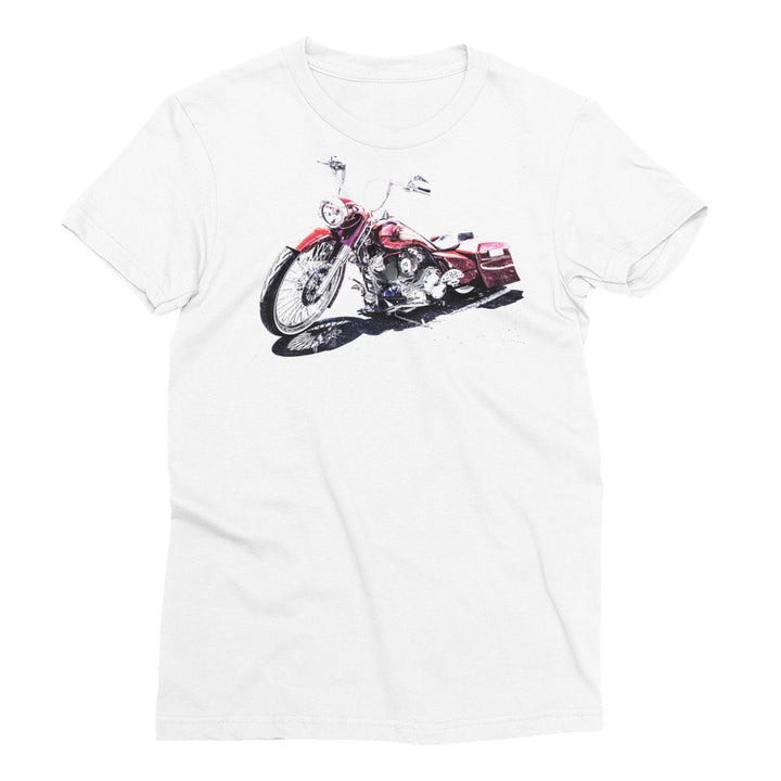 Custom Harley Motorcycle - Will Glover Featured Artist - Women's Short Sleeve T-Shirt