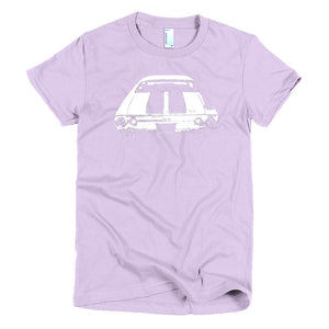 1972 Chevelle SS Rear End - Modern Rodder - Women's T-Shirt
