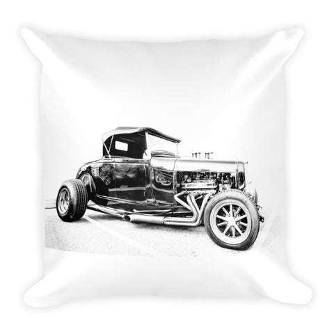 Ford Hot Rod Convertible - Will Glover Featured Artist - Soft Pillow