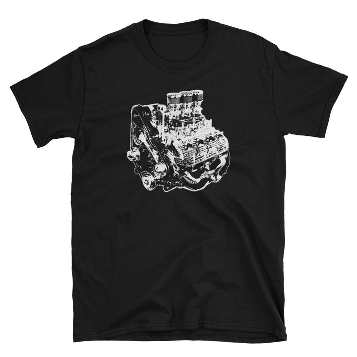 Ford Flathead V8 Engine - Modern Rodder - Men's T-Shirt