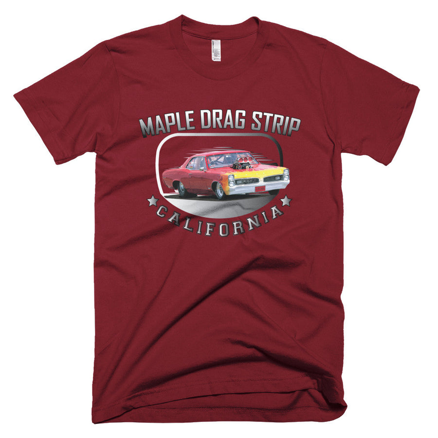 Maple Drag Strip California - Modern Rodder - Men's T-Shirt