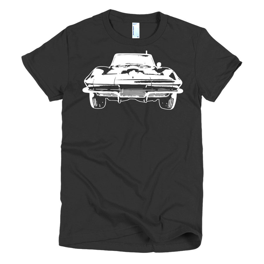 Corvette Sting Ray - Modern Rodder - Women's T-Shirt