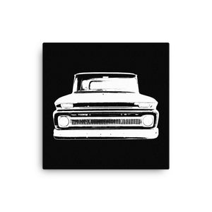 1962 Chevy C10 - Modern Rodder - Canvas Print