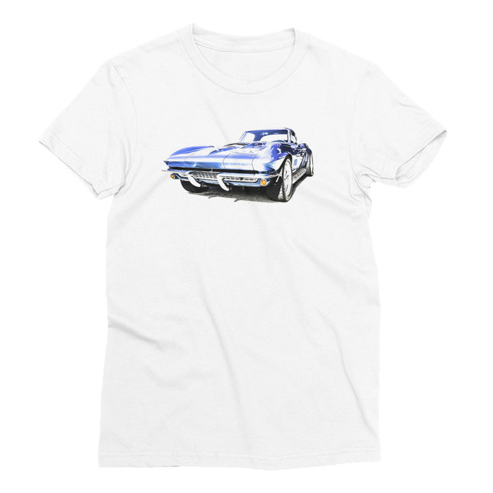 1967 Corvette Sting Ray - Will Glover Featured Artist - Women's Short Sleeve T-Shirt