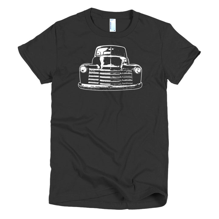 1952 Chevy 3100 Custom Pickup - Modern Rodder - Women's T-Shirt