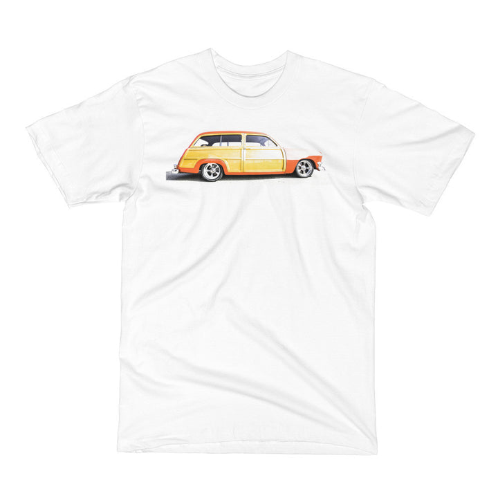 Ford Woody Wagon - Will Glover Featured Artist - Men's Short Sleeve T-Shirt
