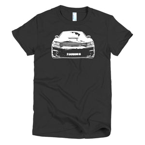 2017 Dodge Charger SRT Hellcat - Modern Rodder - Women's T-Shirt