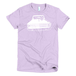 1969 Chevy C10 Custom Pickup - Modern Rodder - Women's T-Shirt