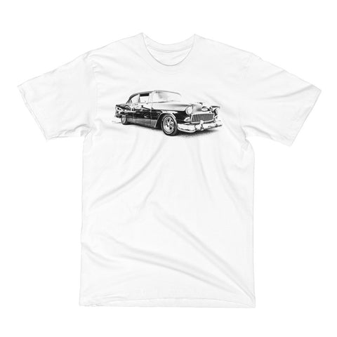 1955 Chevy Bel Air - Will Glover Featured Artist - Men's Short Sleeve T-Shirt