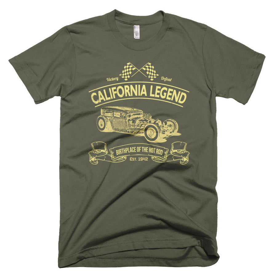California Legend - Modern Rodder - Men's T-Shirt