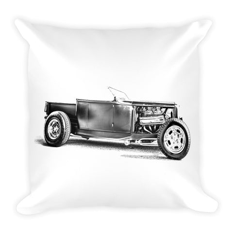 1932 Ford Hot Rod Pickup Truck - Will Glover Featured Artist - Soft Pillow