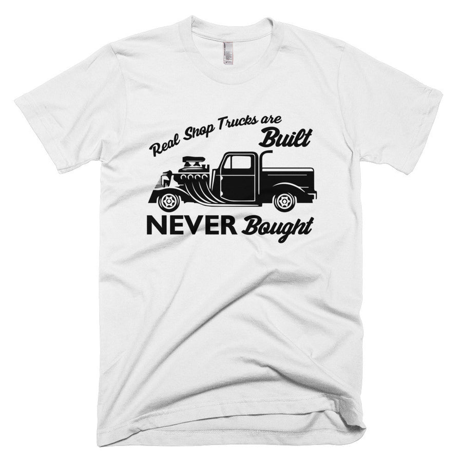 Real Shop Trucks - Built NEVER Bought - Modern Rodder - Short Sleeve Men's T-Shirt