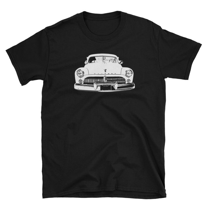 1950 Mercury Eight Lead Sled Street Rod - Modern Rodder - Men's T-Shirt