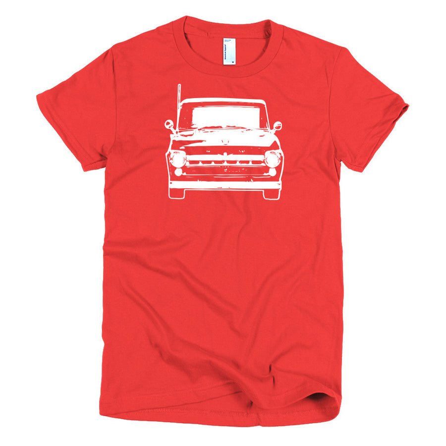 1957 Ford F100 - Modern Rodder - Women's T-Shirt