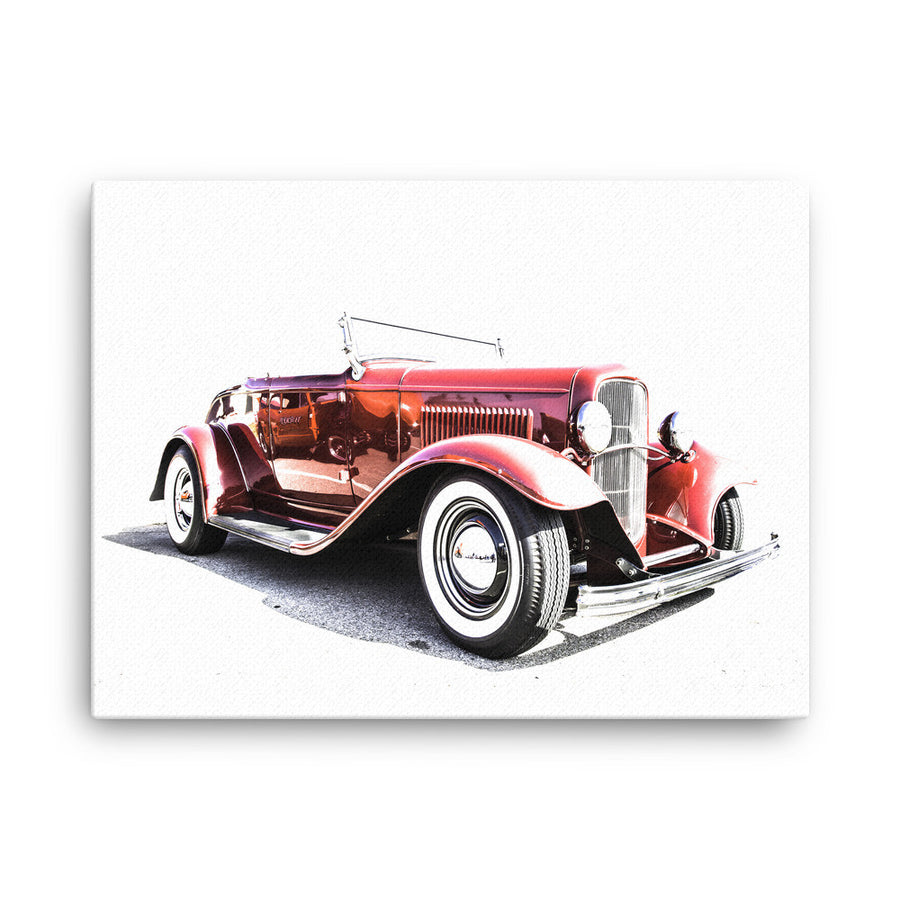 1932 Ford Roadster Hot Rod - Will Glover Featured Artist - Canvas Print