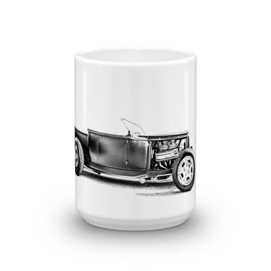 Ford Hot Rod Pickup - Will Glover Featured Artist - Mug made in the USA