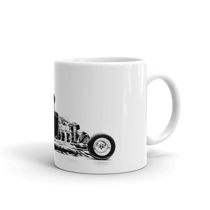 Ford Pickup Truck Hot Rod - Will Glover Featured Artist - Mug made in the USA