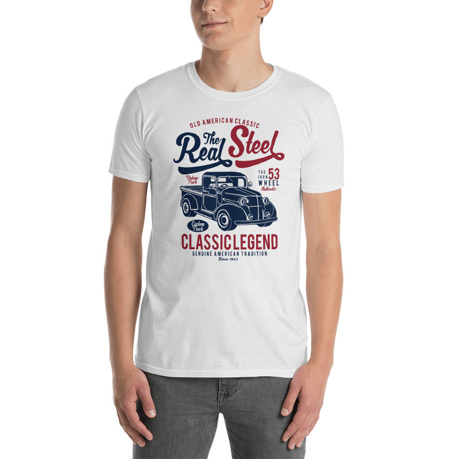 The Real Steel - Classic 1940s Ford Pickup Truck - Men's Shirt