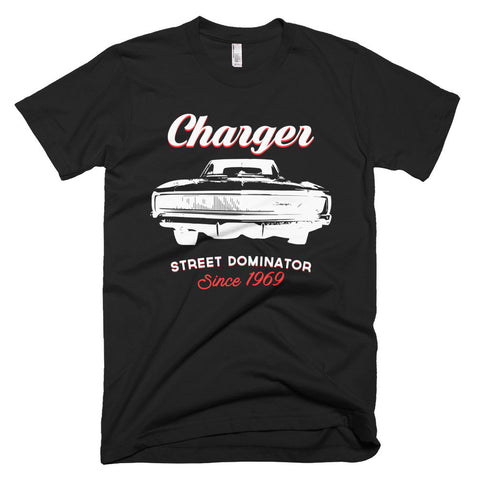 Charger Street Dominator - Modern Rodder - Men's T-Shirt