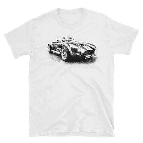 Shelby Cobra Vintage Race Car - Will Glover Collection Men's T-Shirt