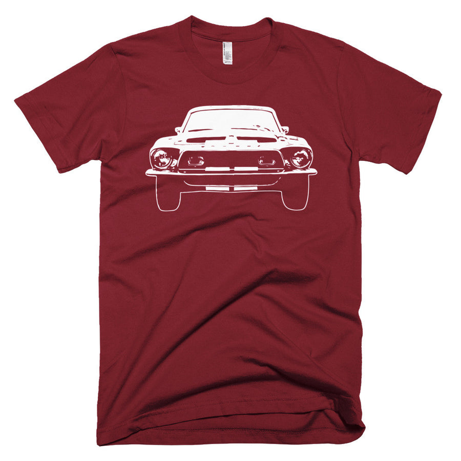 1967 Shelby Mustang GT500 - Modern Rodder - Men's T-Shirt