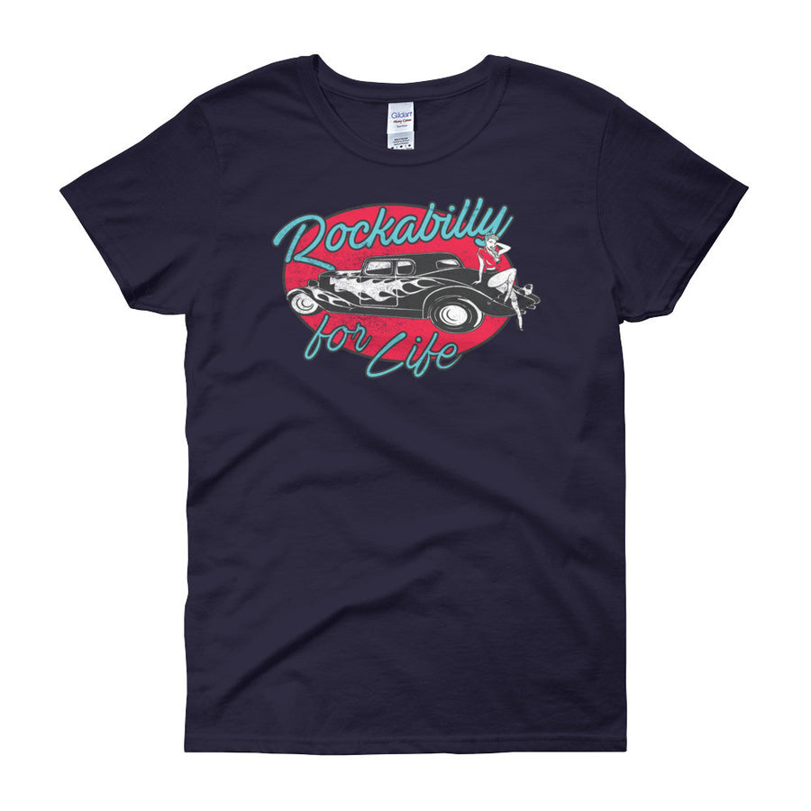Rockabilly for Life - Modern Rodder - Women's T-Shirt