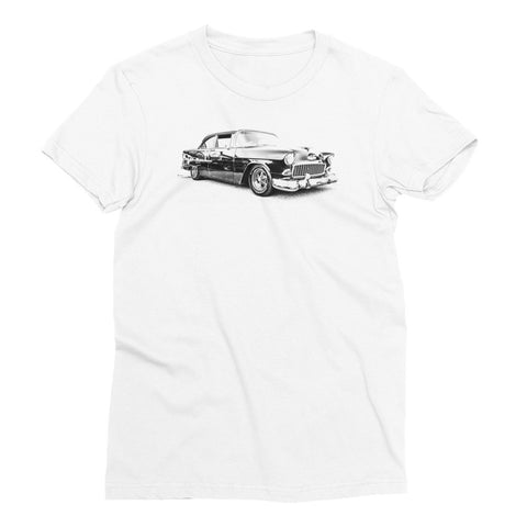 1955 Chevy BelAir - Will Glover Featured Artist - Women's Short Sleeve T-Shirt