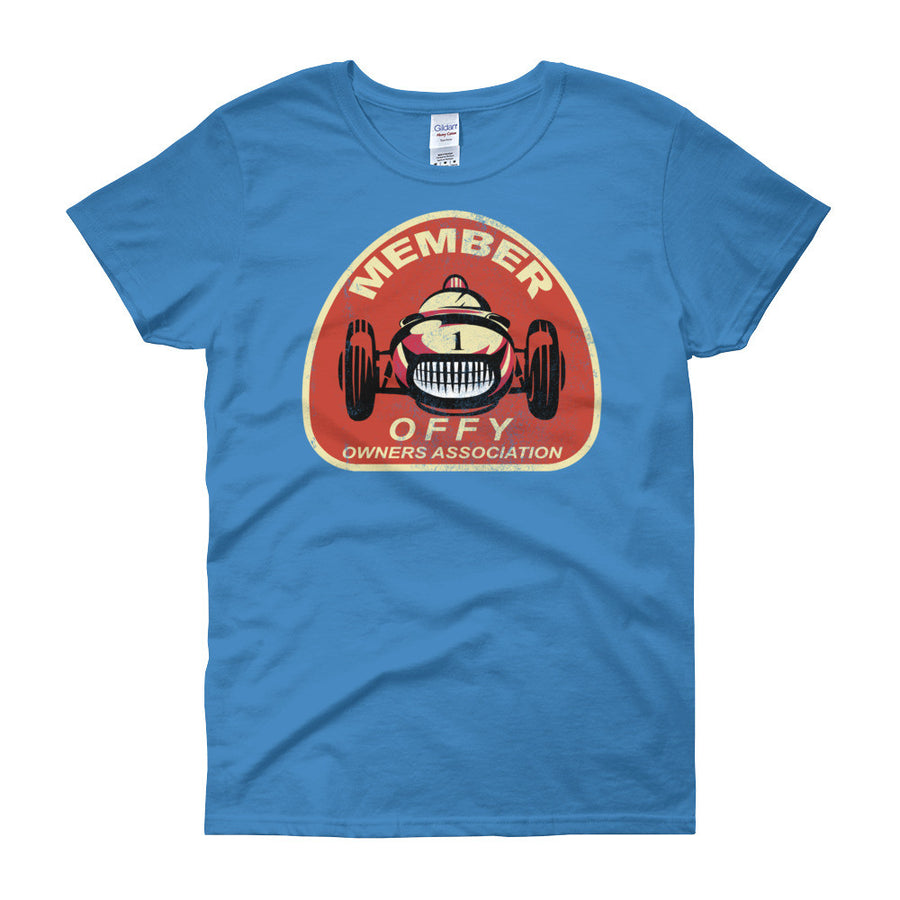 Offy Owners Association - Modern Rodder - Women's T-Shirt