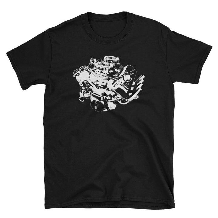 426 Mopar Hemi Head Engine - Modern Rodder - Men's T-Shirt